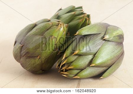 Some Fresh Artichokes