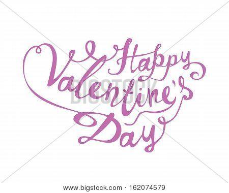 Happy Valentine's Day. Vector