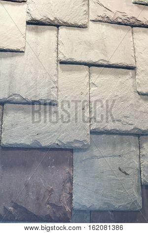 Ceramic tiles, building slate, slate roofing, texture
