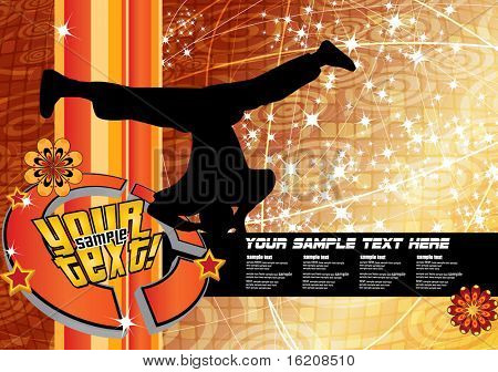 Break-dance poster