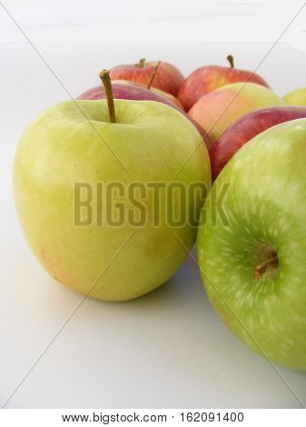 Newest and most beautiful green apple pictures