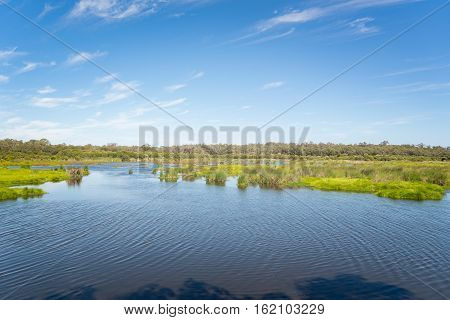 Lake of Yanchep National Park in south western Australia.