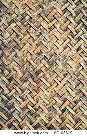 old bamboo weaved texture, bamboo texture and background