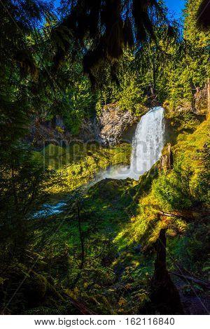 Sahalie Falls Oregon