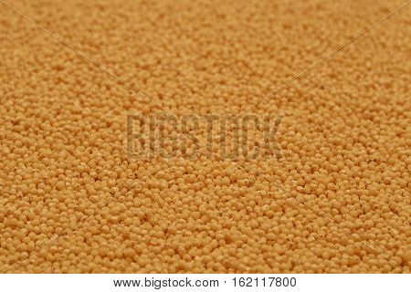 Millet seeds as texture for food background