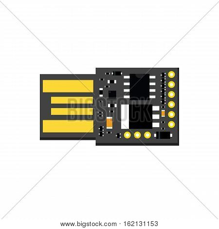 Diy Electronic Usb Board With A Microcontroller