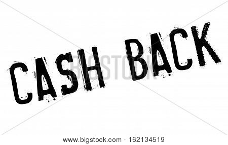 Cash back stamp. Grunge design with dust scratches. Effects can be easily removed for a clean, crisp look. Color is easily changed.