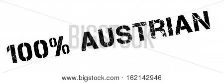 100 percent Austrian rubber stamp. Grunge design with dust scratches. Effects can be easily removed for a clean, crisp look. Color is easily changed.