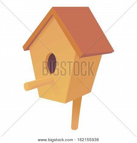 Nesting box icon. Cartoon illustration of nesting box vector icon for web design