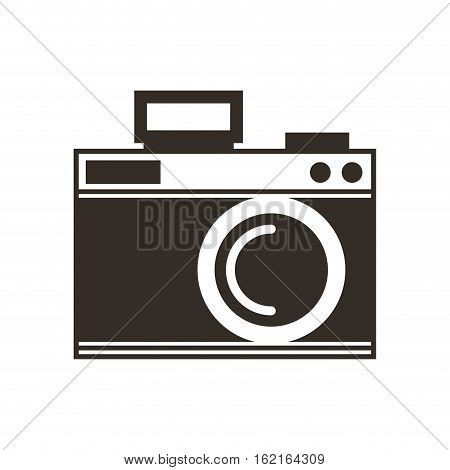 camera photographic drawing icon vector illustration design