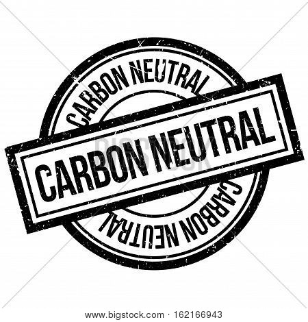 Carbon Neutral rubber stamp. Grunge design with dust scratches. Effects can be easily removed for a clean, crisp look. Color is easily changed.