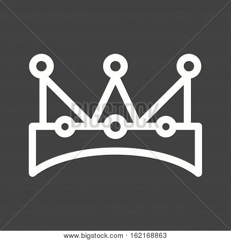 King, card, casino icon vector image. Can also be used for casino. Suitable for use on web apps, mobile apps and print media.