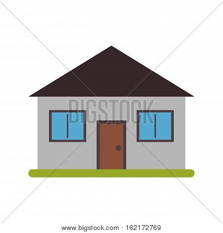 real state house lifestyle vector illustration eps 10