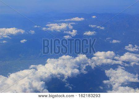 Aerial View Of Japan