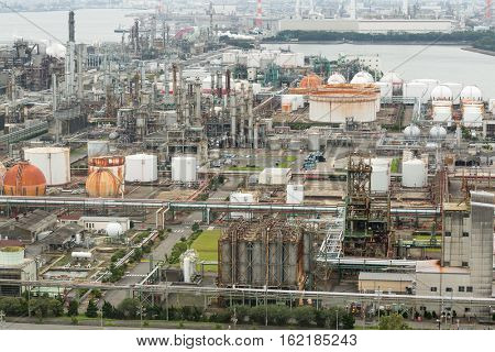 Industry factory in Japan