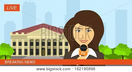 Live News Reporter