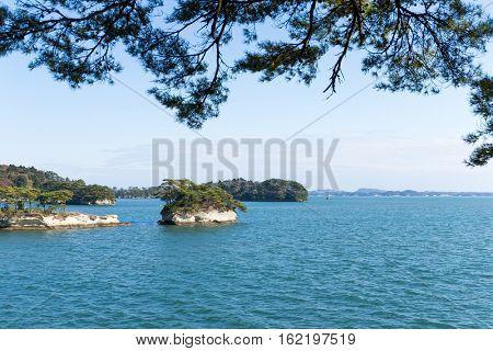 Matsushima Island in Japan