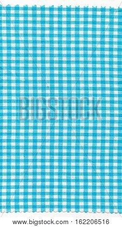 Cyan Fabric - Vertical