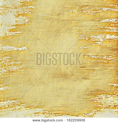 Ancient grunge beige background. Vector old paper texture
