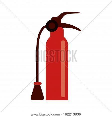 fire extinguisher equipment fire help vector illustration eps 10