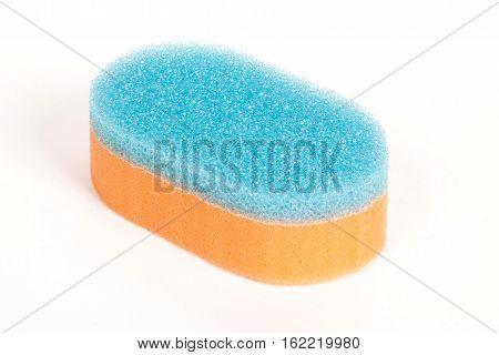 Orange Scouring Sponge