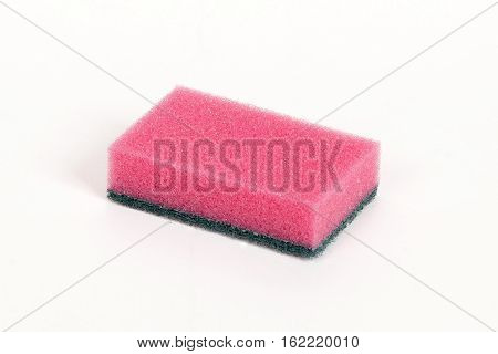 Pink Scouring Sponge