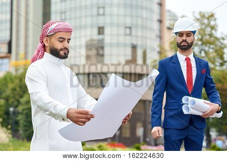 Professional Architect On A Meeting With His Client