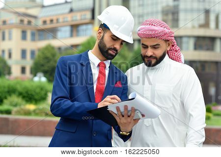 Young Engineer Meeting His Client