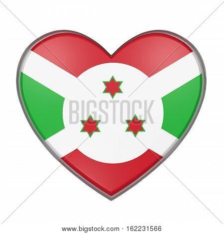 Burundi Heart