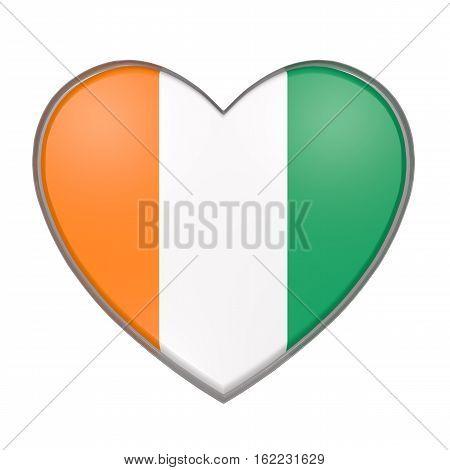 Ivory Coast Heart