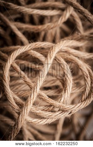 Thick strong rope sold in the open market. Can use for background