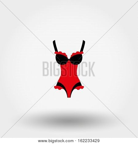 Corset. Vector Illustration.