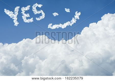 Blue Sky And White Cloud. Sunny Day.cloudscape.close Up The Cloud