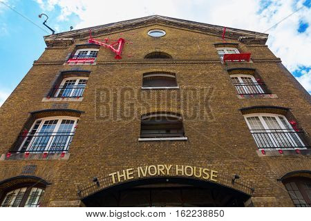 Ivory House In The St Katharine Docks In London