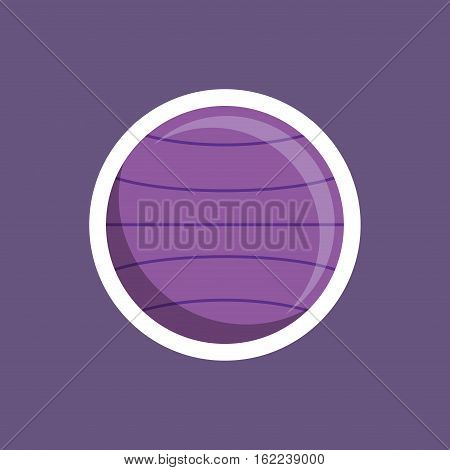 stability ball workout icon vector illustration graphic