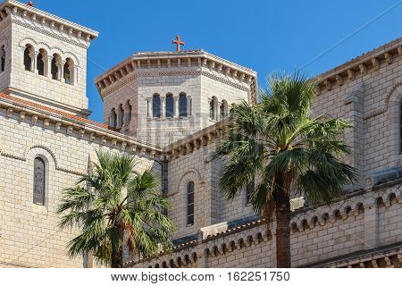 The Architectural Appearance Of The Mansions On The Streets Of The Principality Of Monaco