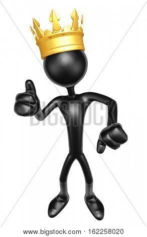The Original 3D Character Illustration King
