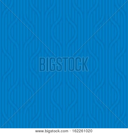 Stpiped wavy pattern. Blue Neutral geometric seamless patterns for web design. Monochromatic colors tileable vector background.