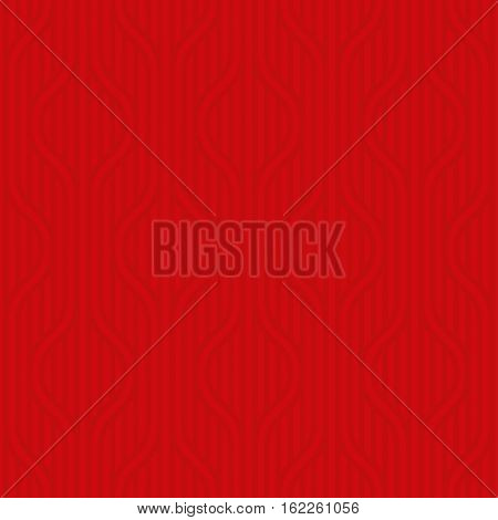 Stpiped wavy pattern. Red Neutral geometric seamless patterns for web design. Monochromatic colors tileable vector background.
