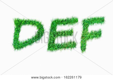 Green Nature Real Grasss Def Font.
