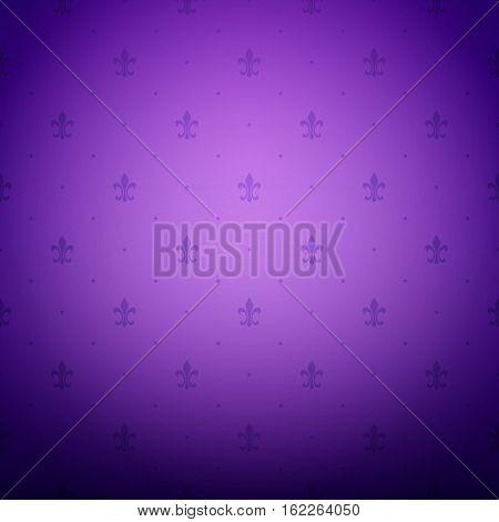 Vintage ornament purple background wallpaper. Ready for your design. Vector Illustration.