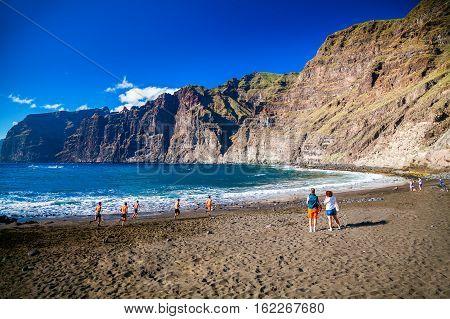 Playa De Los Guios In Los Gigantes