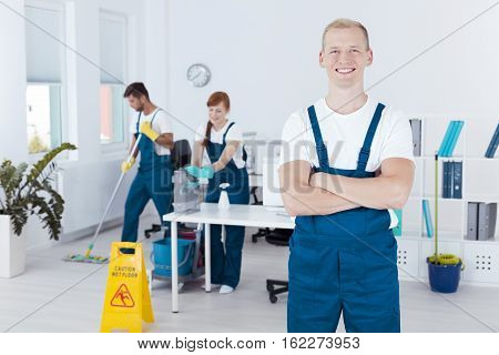 Young Cleaning Staff