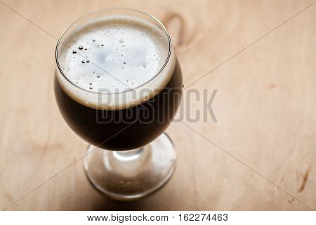 Imperial Stout On Wood