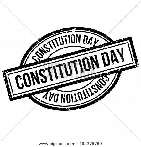 Constitution Day rubber stamp. Grunge design with dust scratches. Effects can be easily removed for a clean, crisp look. Color is easily changed.