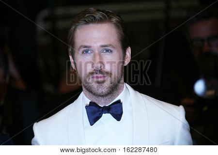 Ryan Gosling attends 'The Nice Guys' premiere during the 69th annual Cannes Film Festival at the Palais des Festivals on May 15, 2016 in Cannes, France.