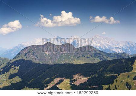 Loferer Steinberge - Mitterhorn, Reifhorn, Grosses Ochsenhorn In Austria