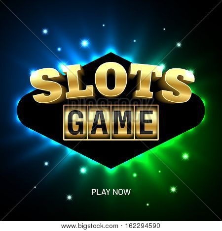 Slots Game casino banner element