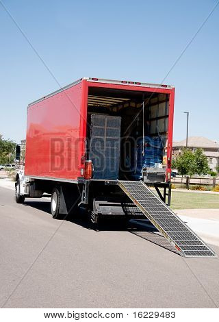 Relocation moving truck