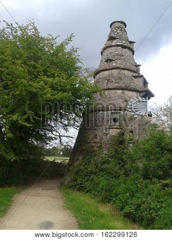 Celeiro, Leixlip, Co. Kildare, Irlanda, construído em 1743